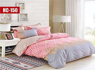 Cotton Softy Foam Printed Bed Sheet