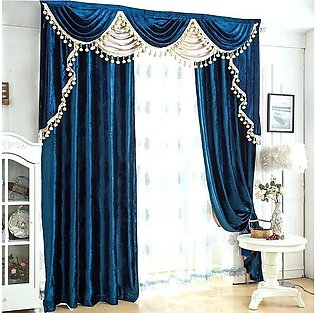 .  Fancy Cotton Satin Curtain For Home/Office 12