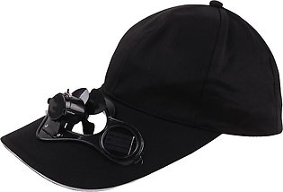 Duang Duang Camping Hiking Peaked Cap with Solar Powered Fan Baseball Hat Coo...