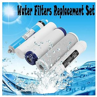 The Old Tree Replacement Set Water Filters Membrane 5 Stage Reverse Osmosis RO Systems 75GPD