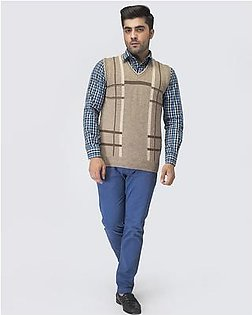 Oxford Lambswool Sleeveless For Men