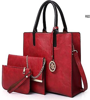 Ladies Handbag Set Elegant Ladies PurseDesign bag PU Leather