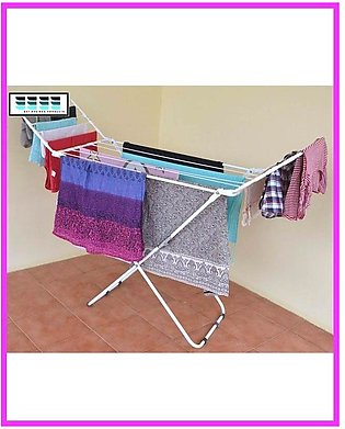 Folding Wet Cloth Dryer Stand (Compact Cloth Dryer Stand)Folding Wet Cloth Drye…