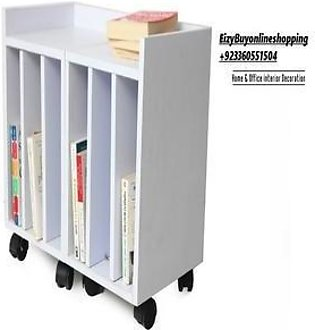 Moveit 1 Moveable Side Table with Removeable Shelves