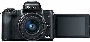 Canon EOS M50 Mirrorless Digital Camera with 15-45mm Lens For Youtube Vlog Vi...