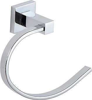Towel Ring - Silver