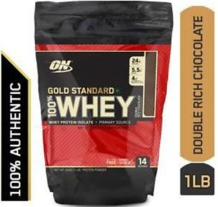 Gold Standard 100% Whey Protein Powder - 1 lb (Double Rich Chocolate)