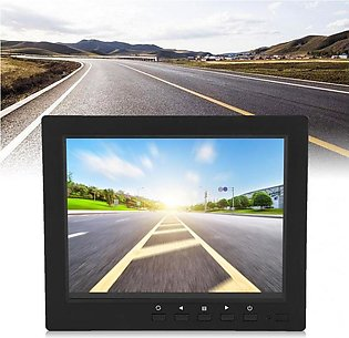 8 inch TFT Color LCD Monitor accessoire voiture CCTV Video Screen HDMI VGA BN...