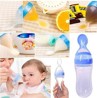 Baby Spoon Feeder / Feeder with Spoon / Silicone Spoon Feeder / Baby Silicon Sp…