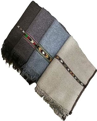 Pack of 4 Pure woolen shawls(chaddar) for men