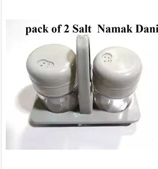 Pack Of 2 Salt And Pepper Namak Dani With Adjustable Pour Holes