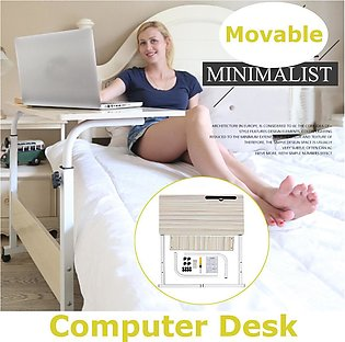 Laptop Desk Computer Mobile Home Office Stand Height Adjustable Study Work Table