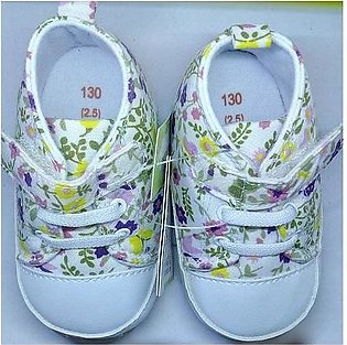 Flower Canvas style Baby Shoes Floral design for boys & girls Unisex, toddler, …