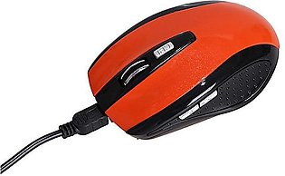 Bluetooth Wireless Rechargeablee 6d 1600dpi Optical Gaming Mouse Red