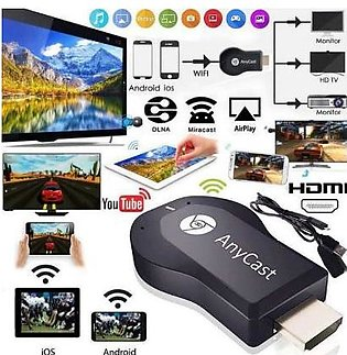 AnyCast M4 Plus Wireless WiFi Display Dongle Receiver 1080P HDMI Media Video St…