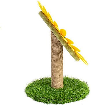Cat Scratch d, Claw Sharpener, Sunflower Cat Toy, Cat Tree, Sisal, Claw Grindin…