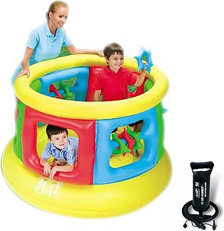 Bestway Jumping Tube Gym Kids Inflatable Play Bouncer for Outdoor & Indoor(Bo...