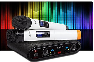 X-03 wireless microphone home singing amplifier computer KTV stage performance