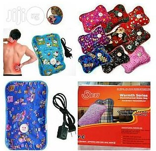 Electrothermal Hot Water Bag For Pain Relief - Multicolor