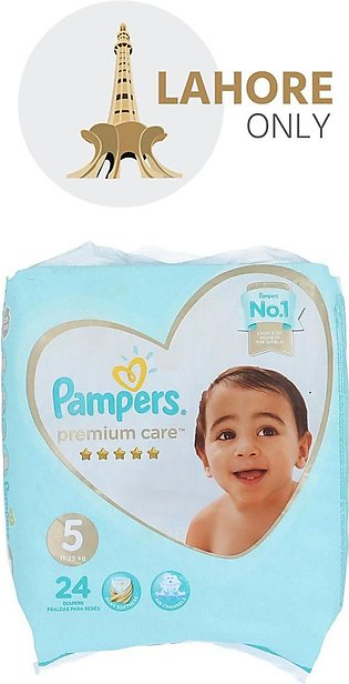 5 Pampers Premium Care 11-25 kg 24 Diapers