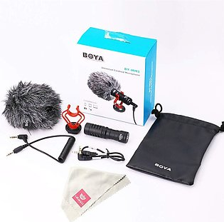 BOYA BY-MM1 Video Record Microphone Compact VS Rode VideoMicro On-Camera Reco...