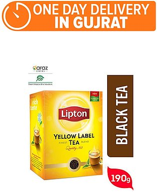 Lipton yellow Lable 190gm(One day delivery in Gujrat)