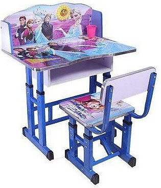 Frozen Kids Study Table And Chair