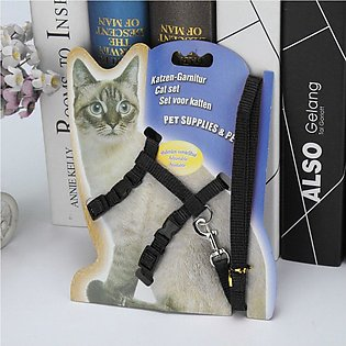 Adjustable Dog Pet Chest Harness Soft Nylon Leash Collar Walk Out Hand Strap