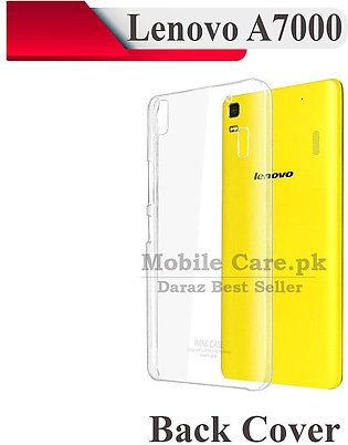 Lenovo A7000 Transparent Back Cover Crystal Clear Cover For Lenovo A7000