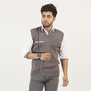 Oxford Wool Blend Sleeveless For Men