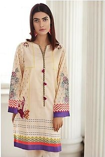 So Kamal Women EID Collection Multi 1 PCS Pret - Embroidered Lawn Int:XS DPL 19-335