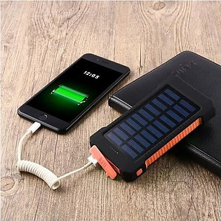 7300mAh Solar Panel Power Bank