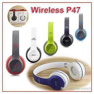 Buy P47( including FREE aux cable)Wireless dynamic headphones Bluetooth