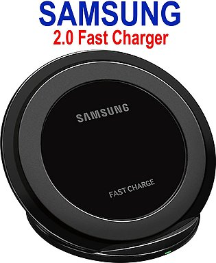 Samsung 2.0 Ampere Universal Qi Crystal Fast Wireless Charger Samsung Wireless …