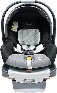 Comfortable Infant Newborn Baby Car Seat For Infant or House With Sun Canopy & Mosquito Net