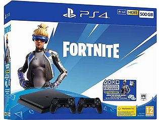 Fortnite Neo Versa 500GB PS4 Bundle with Second DualShock 4 Controller PS4