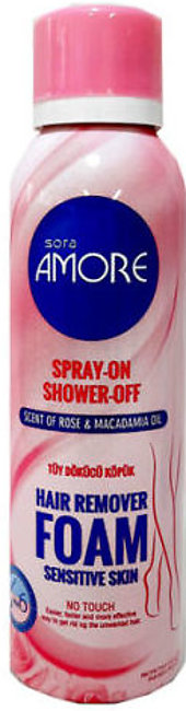 Spray On Showroof Hair Remover Foam