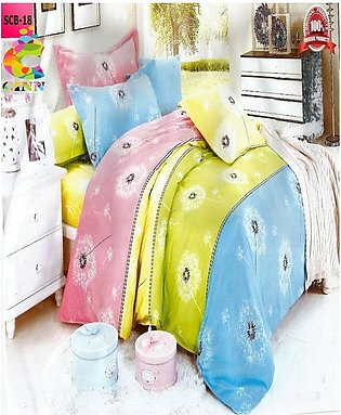 New Cotton Softy Foam Bedsheets With 2 Pillow Covers Scb-18 (R K)