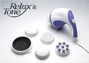 Relax & Spin Tone Body Massager Electric vibrating 5 in 1 Full Relax Tone Spin …