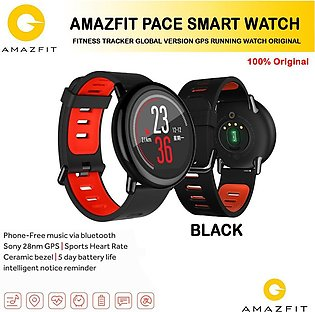 Amazfit Pace Smart Watch/ Fitness Tracker Global Version GPS Running Watch Or...
