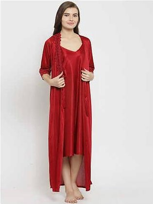 3 Pieces Nighty Import Quality Stylish Design and different colors available