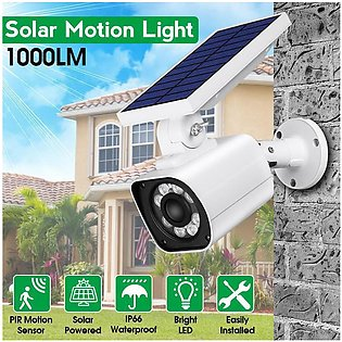 【Free Shipping + Flash Deal】1000LM Solar Power LED Light Dummy Fake Security ...