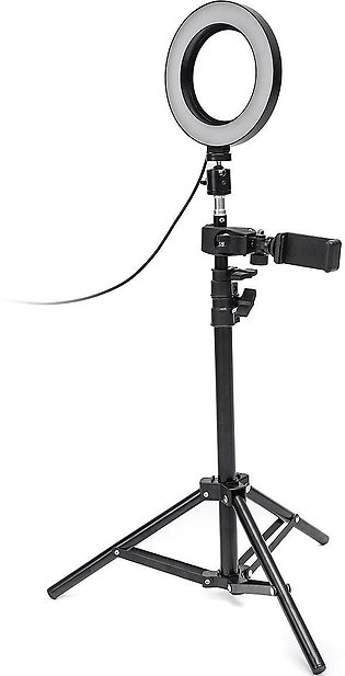 Colahome Dimmable LED Studio Camera Ring Light Makeup Photo Phone Video Lamp ...
