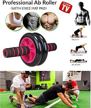 New Generation Double Wheel AB Roller Free Knee Mat- Stable