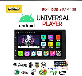 Universal Dextro 7 Inch Touch Screen Car Bluetooth Android Player 2 DIN Unive...
