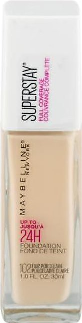 Maybelline Super Stay Full Coverage Foundation FAIR PORCELAIN