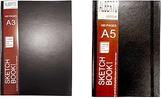 pack of 2 A3 and A5 sketch books