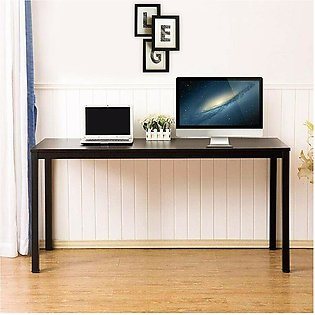 Desk with Shelf,Computer Gaming Desk Home Office and Gamer Table, Large PC La...