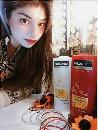 Tresemme Keratin Smooth Colour Shampoo and Conditioner pack of 2