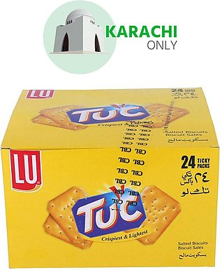 LU Tuc Salted Biscuits 24 Ticky Packs